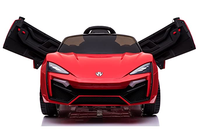 Toy House Fast n Furious Lykan Hypersport Car Rechargeable Battery Operated Ride-on for Kids(2 to 7yrs) , Red Ride-Ons & Tires at amazon