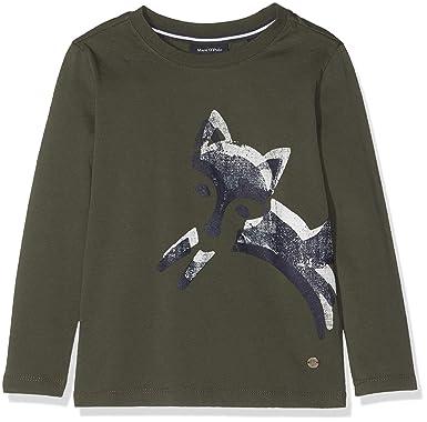 Marc O Polo Kids T-Shirt 1/1 Arm Camiseta, Verde (Climbing Ivy ...