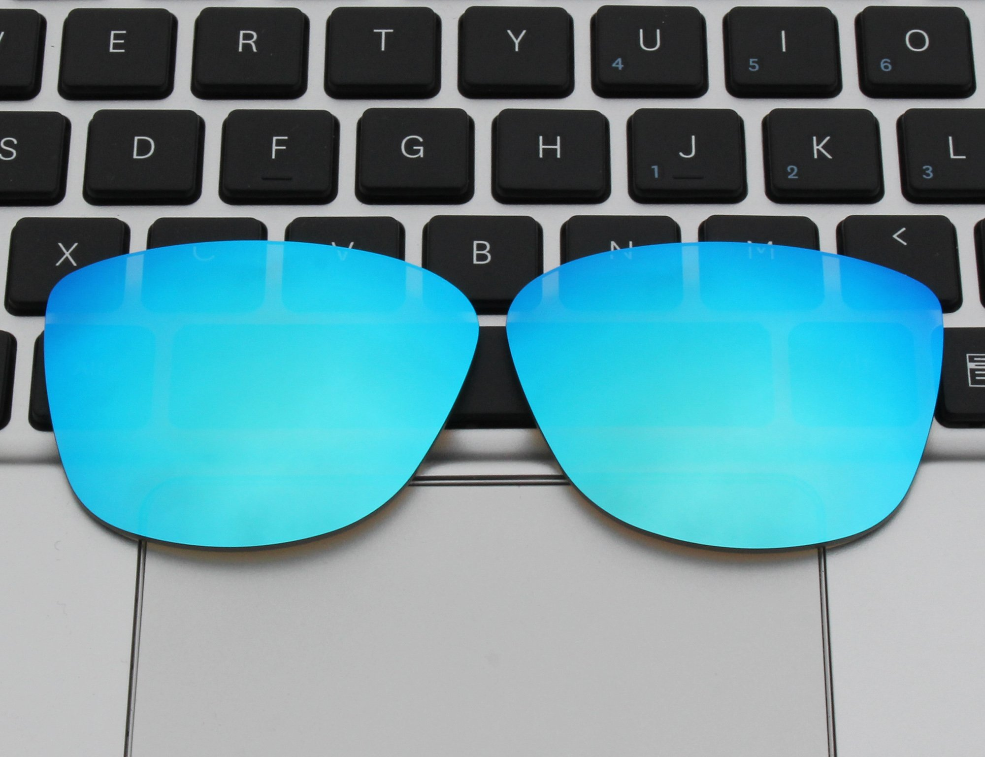 COLOR STAY LENSES 2.0mm Thickness Polarized Replacement Lenses for Oakley Reverie OO9362 Blue Mirror Coatings