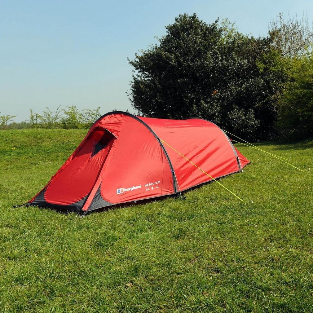 & Berghaus Peak 3.2 Tent Red One Size: Amazon.co.uk: Sports u0026 Outdoors