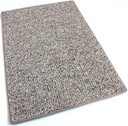 Koeckritz 8 x10 – Driftwood – Indoor Outdoor Area Rug Carpet, Runners Stair Treads with a Premium Nylon Fabric Finished Edges.
