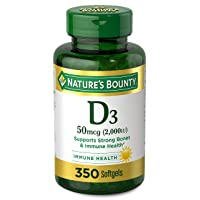 Vitamin D by Nature's Bounty for immune support. Vitamin D provides immune support...