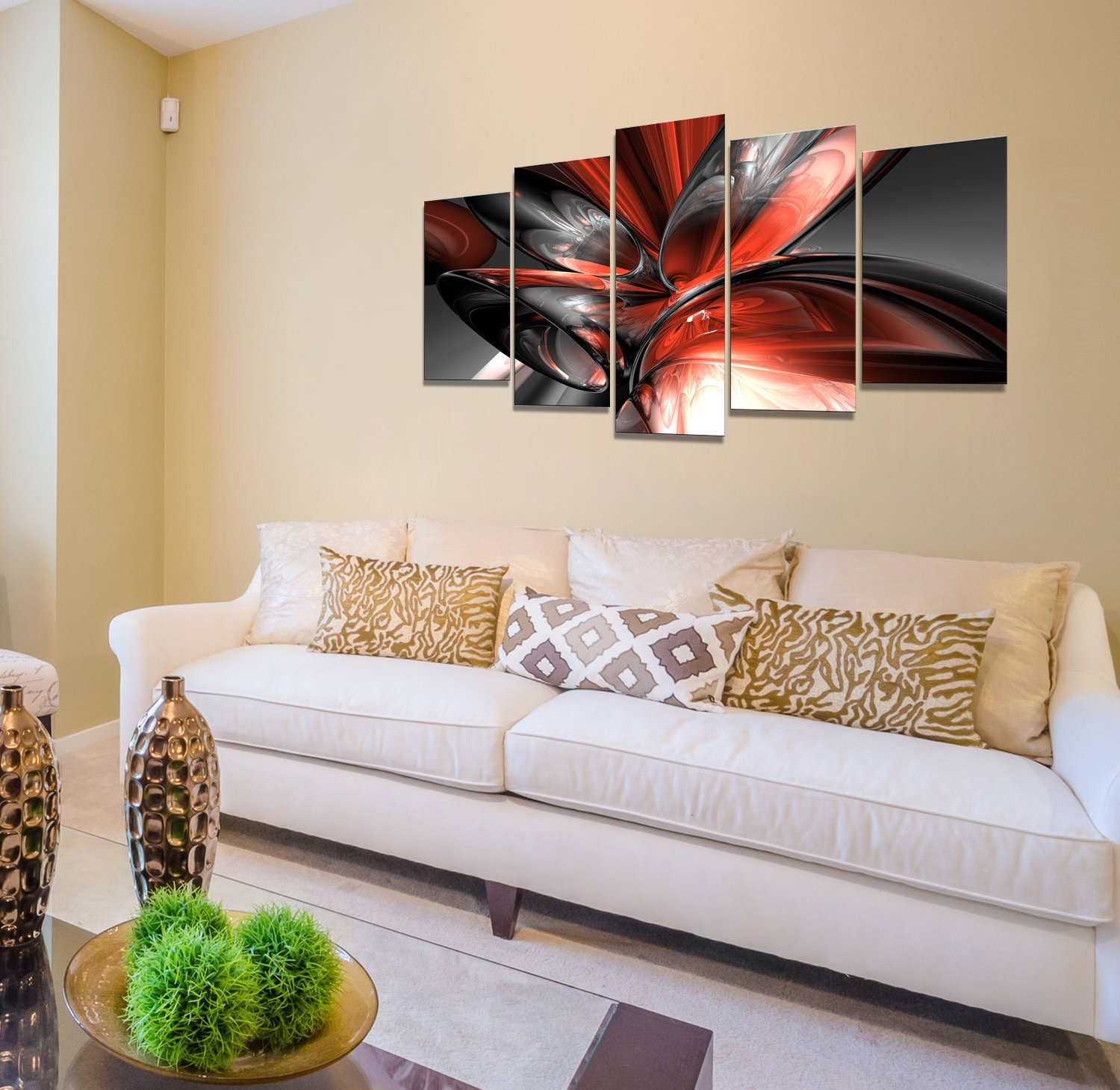 Amazon.com: Fomarkor Art Modern Paintings KX00246 Contemporary Art ...