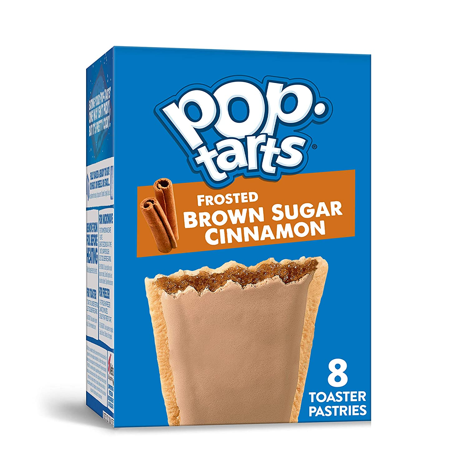 Kellogg's, Pop-Tarts, Frosted Brown Sugar Cinnamon, 8 Ct