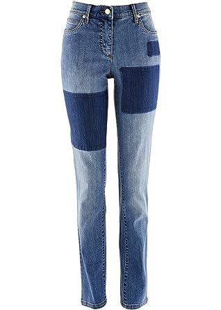 Neuankömmlinge anders heiße Produkte bpc bonprix collection Damen Stretch-Jeans designt von Maite ...