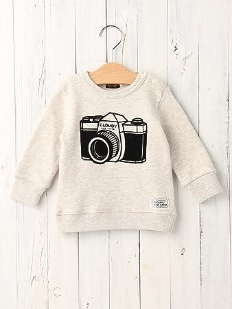 cfc29d20140f4e CLOUDY,FINE LATER(クラウディファインレター) ベビー カメラ トレーナー ベビー服 長袖 子供服