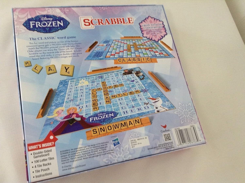 Disney Frozen Scrabble Game: Amazon.es: Juguetes y juegos
