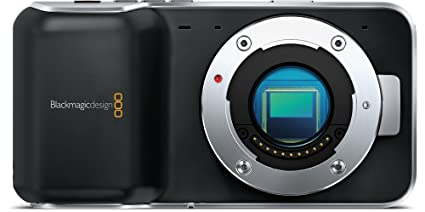 Black Magic Pocket Cinema Camera, Black (Lens Not Included)