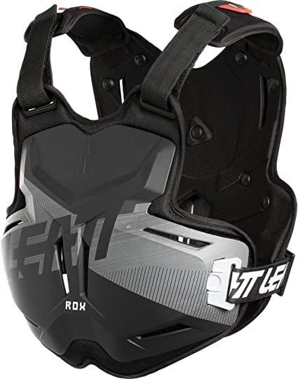 Leatt 2.5 ROX Brushed Chest Protector Black//Gray