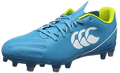Canterbury Phoenix 2.0 Elite Soft Ground, Chaussures de Rugby Homme, Turquoise (Carribean Sea), 40 EU