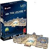 Cubic Fun l517h–3d puzzle–Musée du Louvre avec LED–Paris–France