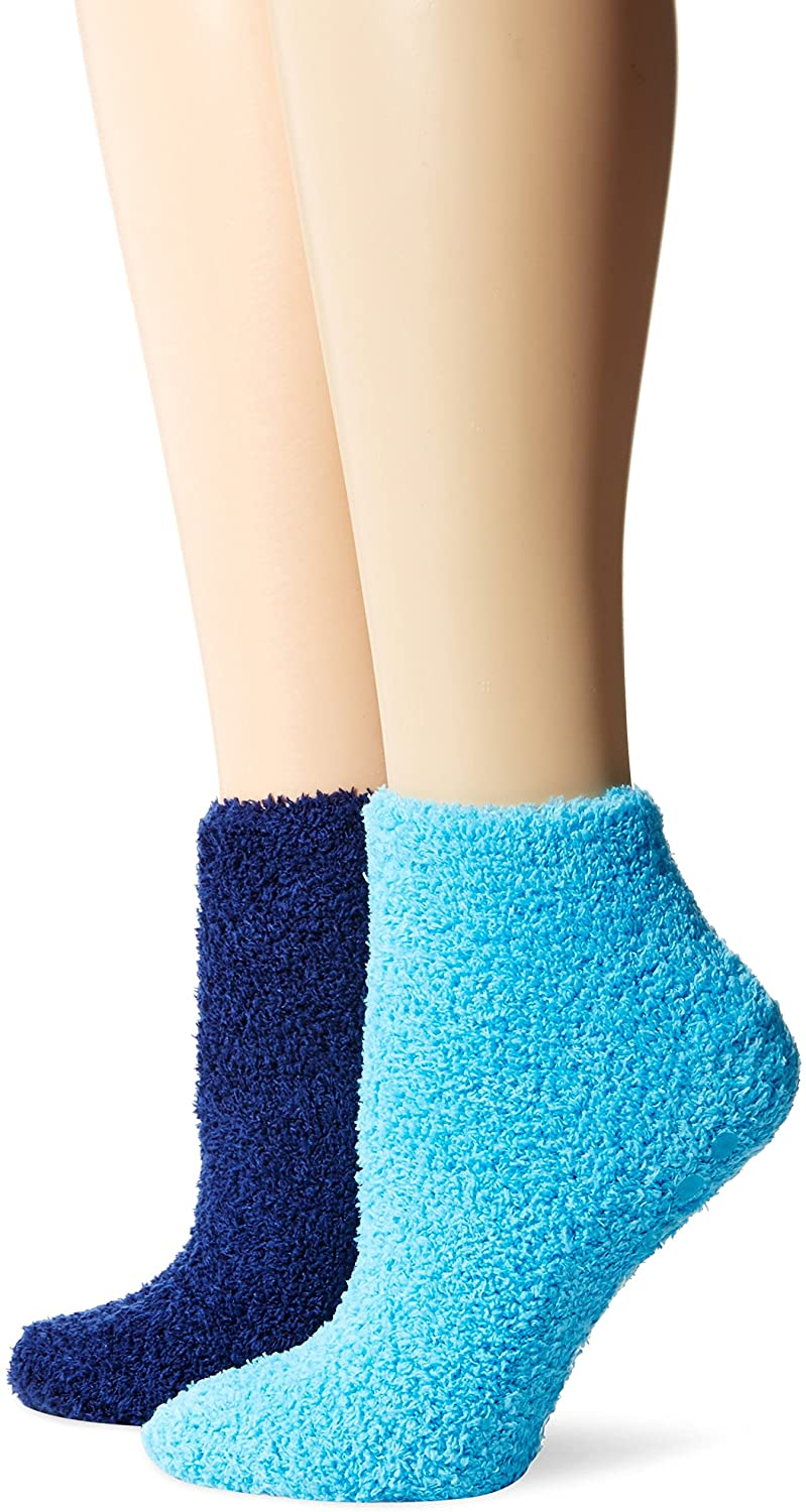 Dr. Scholl's Men's Soothing Spa Low Cut Lavender + Vitamin E Socks (2 Pack)