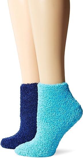 Scholls Womens Non-Binding Low Cut 4 Pack Casual Socks Dr
