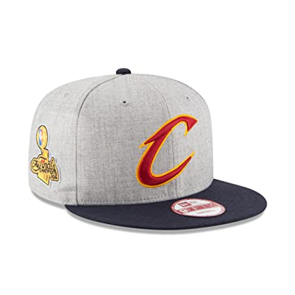a520e1d6159 Image Unavailable. Image not available for. Color  Cleveland Cavaliers 2016  NBA Finals Champions 9FIFTY Snapback Adjustable Hat By New Era -