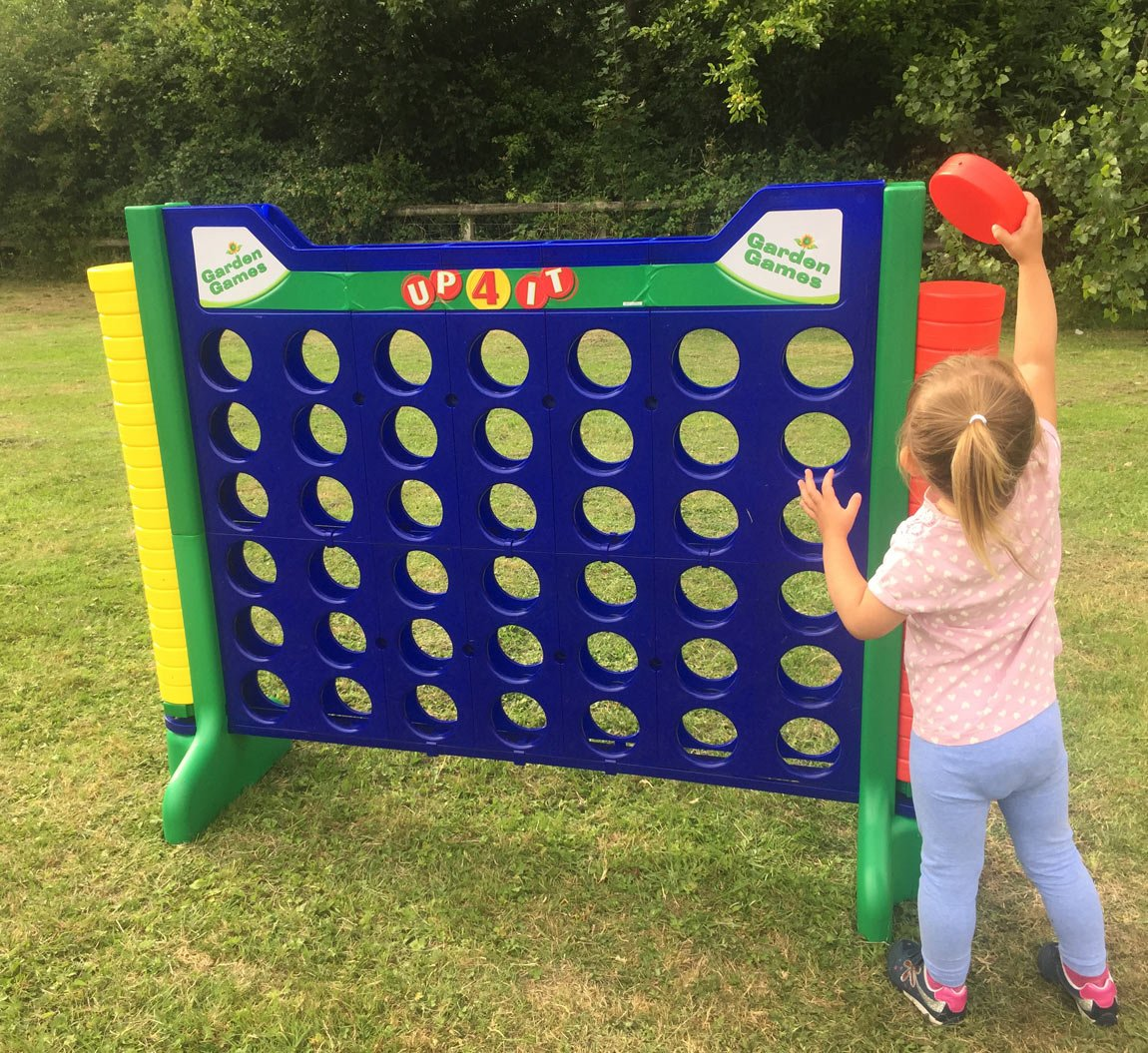 Garden Games Giant Up 4 It   Genuinely Giant Connect 4 Counters Game 110  Centimetres Tall X 146 Centimetres Wide: Mark: Amazon.co.uk: Toys U0026 Games