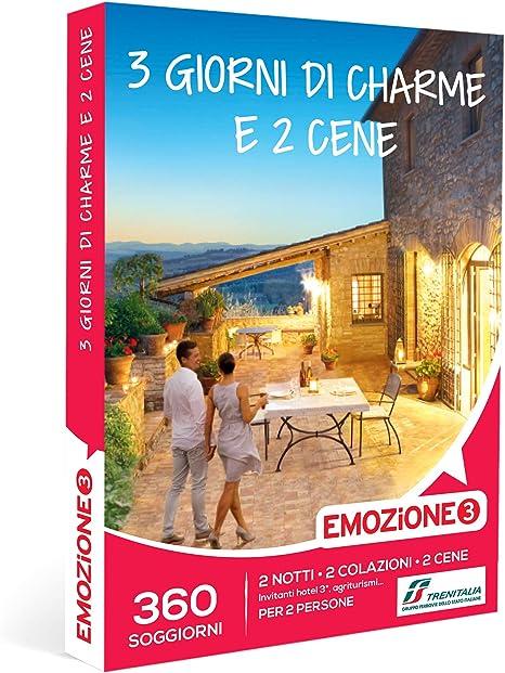 Emozione3 3 Giorni Di Charme E 2 Cene Cofanetto Regalo