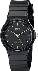 Casio De los hombres Analog Reloj–Negro MQ24–1E TRG