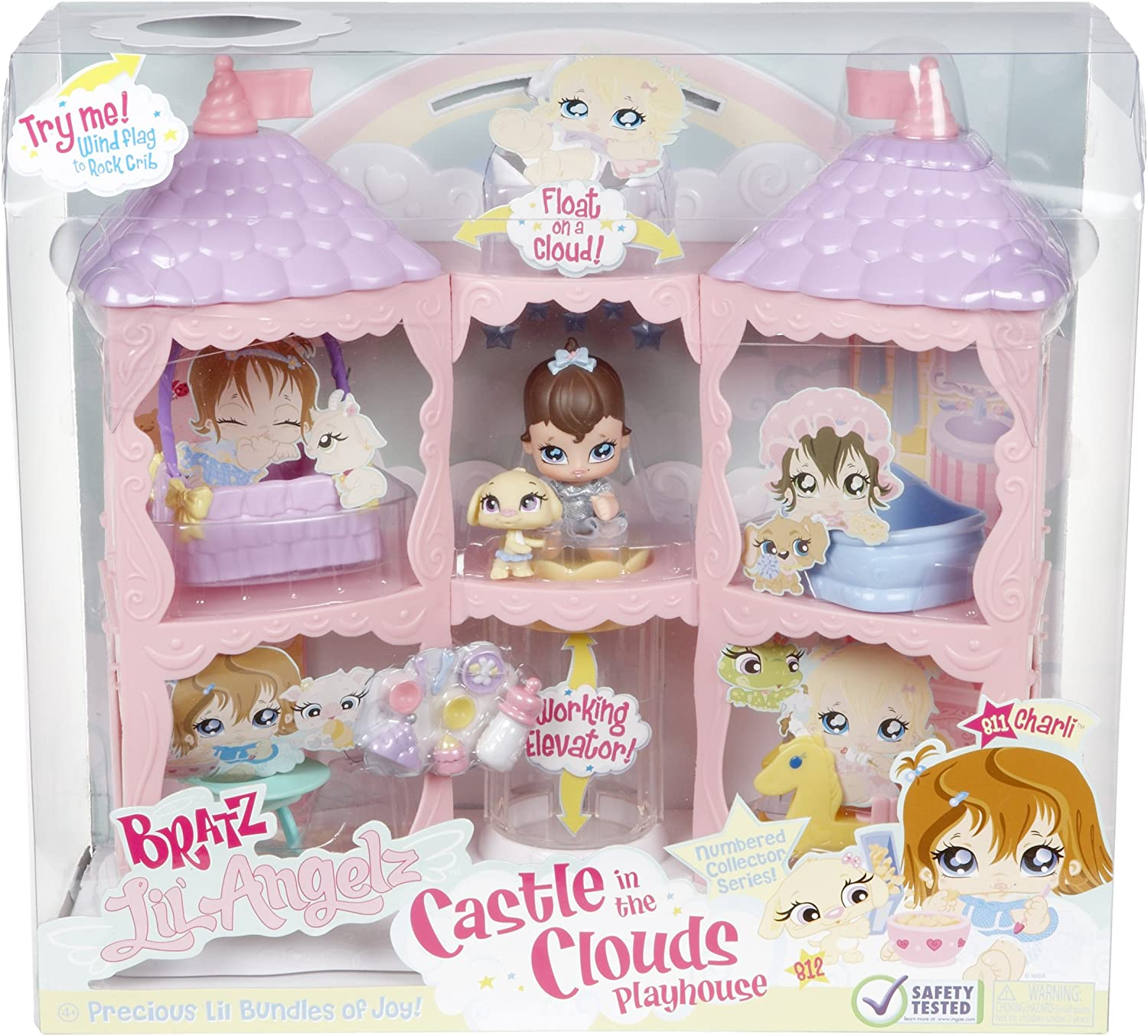 Bratz Lil Angelz Castle in The Clouds Play Set