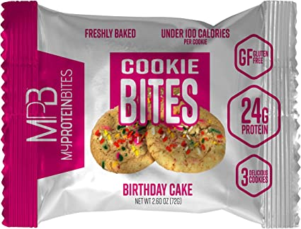 Stupendous Amazon Com My Protein Bites Protein Cookies Protein Low Funny Birthday Cards Online Chimdamsfinfo