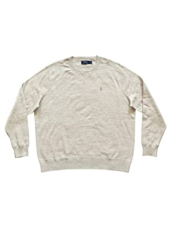 Polo Ralph Lauren suéter de Manga Larga con Cuello Redondo para ...