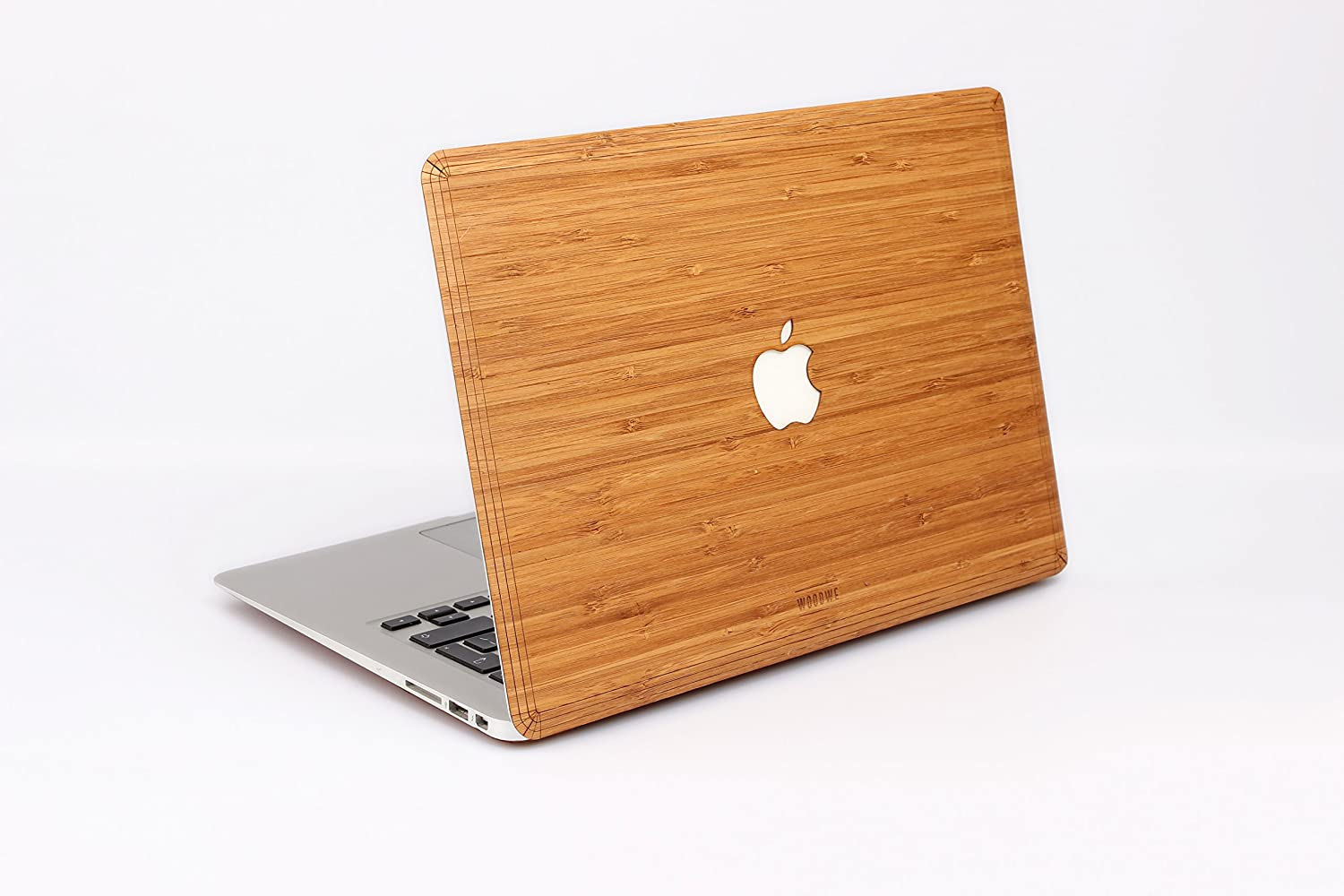 "WOODWE Real Wood Laptop Cover / Skin for Macbook pro 13"" inch Touch Bar Edition 