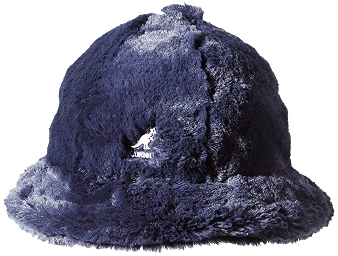 Kangol Men s Faux Fur Casual Bucket Hat  Amazon.co.uk  Clothing e8faf620a1f