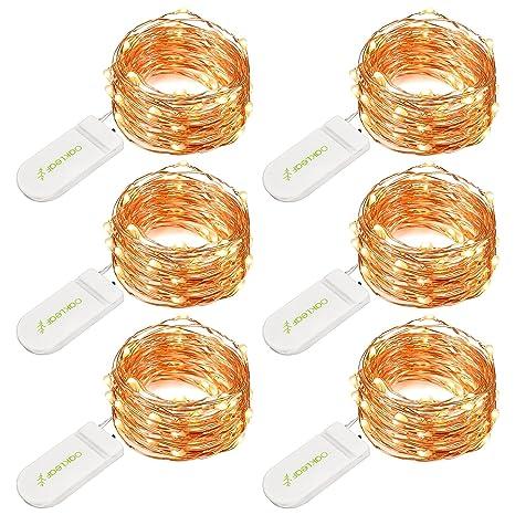 String lights oak leaf 6 set of micro 30 leds 98 ft super bright string lights oak leaf 6 set of micro 30 leds 98 ft super bright warm aloadofball Gallery