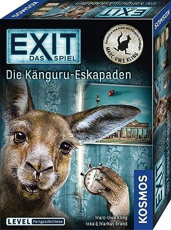 Kosmos 695071 Exit Das Spiel Die Känguru Eskapaden Von Marc Uwe