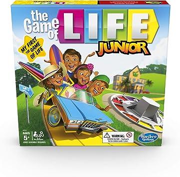 Hasbro Gaming The Game of Life Junior Juego de Mesa para niños de 5 años, Juego para 2 a 4 Jugadores: Amazon.es: Juguetes y juegos