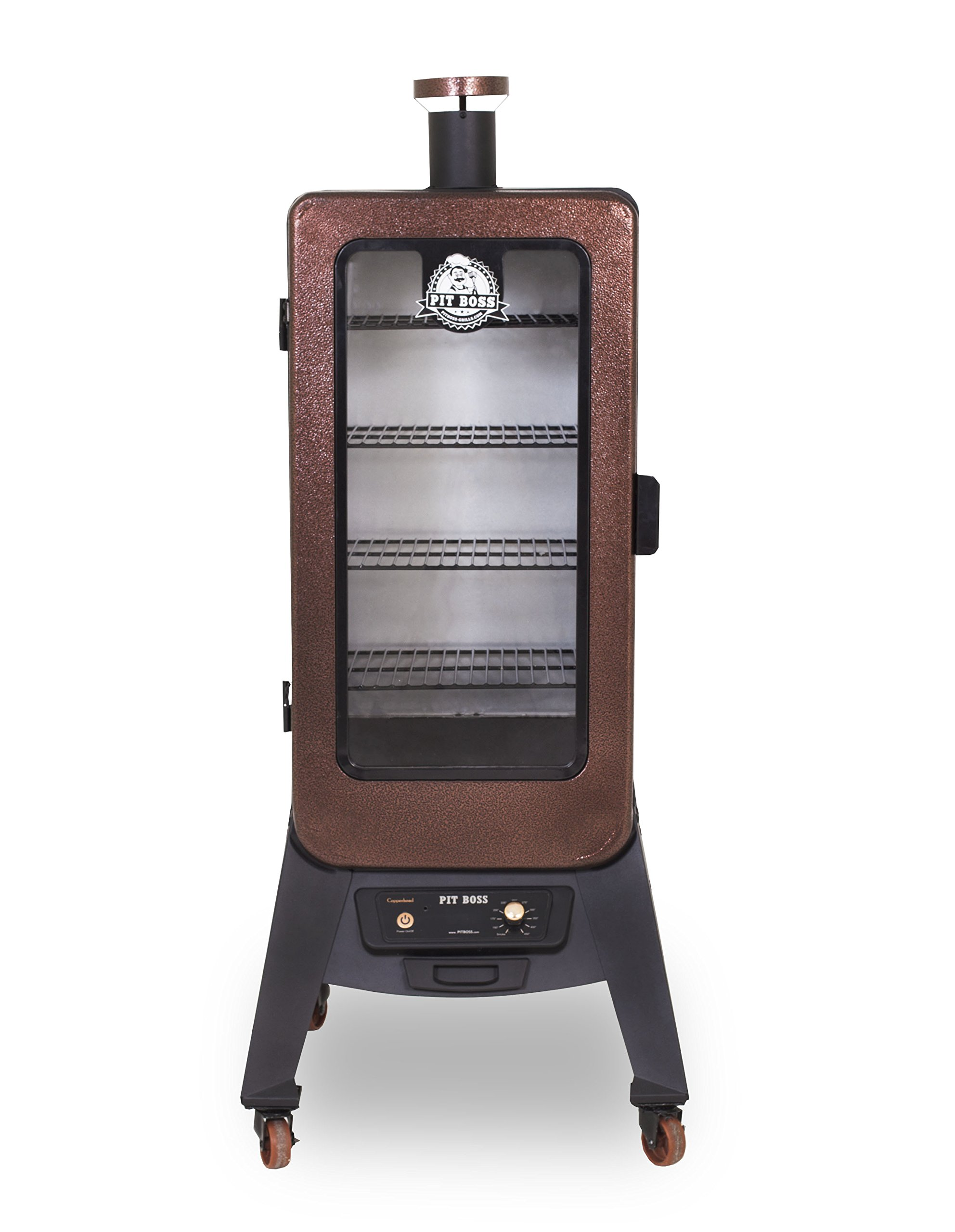 Pit Boss Grills 77350 3.5 Cu. ft. Vertical Digital Pellet Smoker with Rear Hopper
