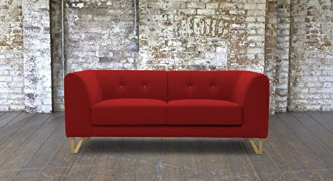 Pleasant Sofas Stuff Canonbury Knebworth Red Small Sofa Amazon Co Pdpeps Interior Chair Design Pdpepsorg