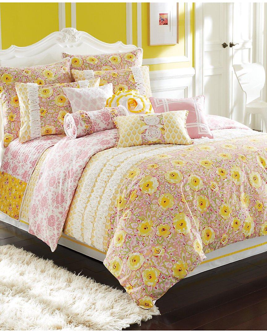 Dena Home Annabelle Cotton Comforter & Sham Coordinates, Standard Sham