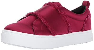 26c6d944d5c50 Sam Edelman Women s Levine Sneaker Cranberry Satin 5.5 Medium US