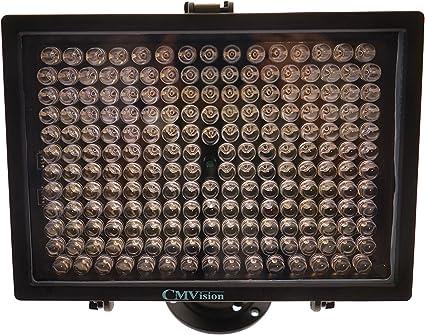 New US-LED-IR200 White LED Spot Light 350 Feet 198 Led light with Power Supply