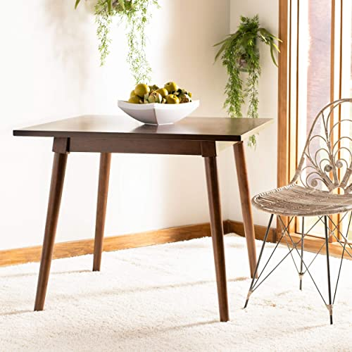 Safavieh Home Simone Modern Walnut Dining Table