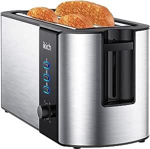 AGH439 EDELSTAHL TOASTER CATERLITE 4 SCHLITZE Auftauen Toast Toastmaschine