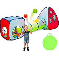 Deals on Kiddey 3pc Kids Play Tent Crawl Tunnel