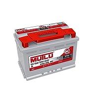 Mutlu 100 Series 2 Battery 12V 72Ah 700A (SAE) 640A (EN)
