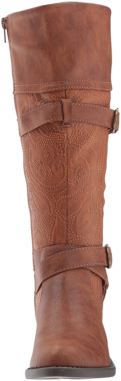 Easy Boot Street Women's Kelsa Harness Boot Easy B071SLQRRG 10 B(M) US|Tan/Embossed 3c2a36
