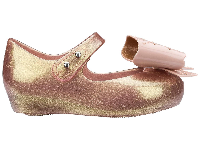 a40119399f403 Mini Melissa Ultragirl Fairy Bow - Rose Gold - 25 26-uk8-8.5  Amazon.co.uk   Shoes   Bags