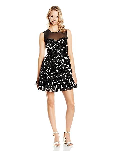 GUESS Vestido Negro XS