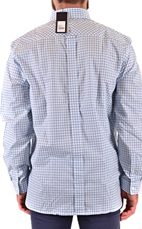Fred Perry Two Colour Gingham Shirt Sky-M: Amazon.es: Ropa y ...