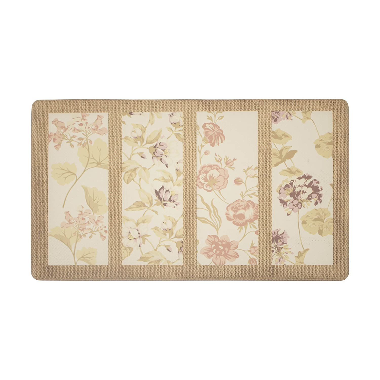 Laura Ashley Almeida Anti-Fatigue Comfort 20 x 32 Kitchen Mat Creative Home Ideas LAYMK005985