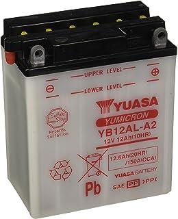 YUASA BATERIA YB12AL-A2 abierto - sin ácido