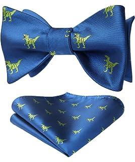 Parquet Mens Bumble Bee Bowtie One Size Bow Tie Light Blue