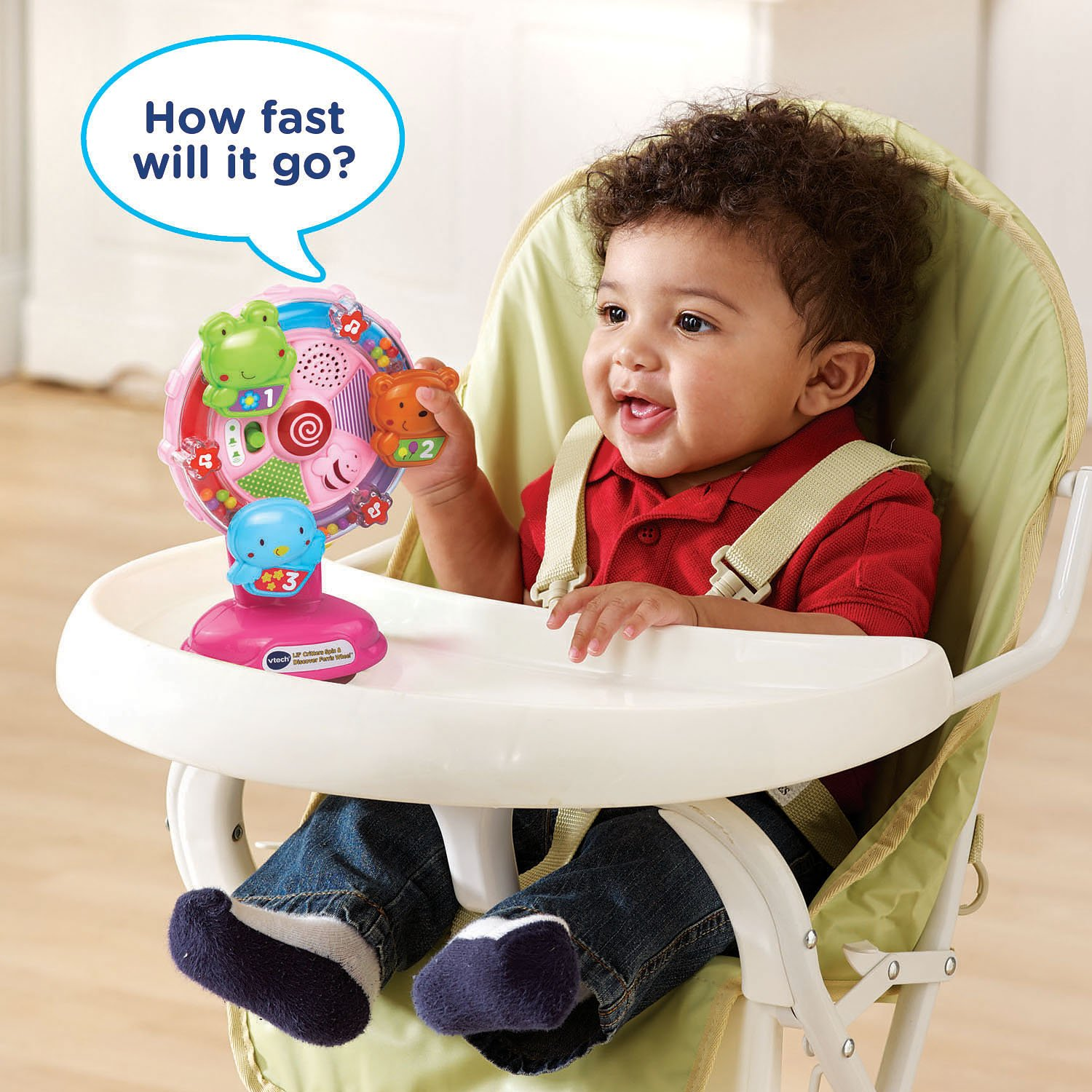 VTech Lil' Critters Spin and Discover Ferris Wheels, Pink (Amazon Exclusive) by VTech (Image #5)