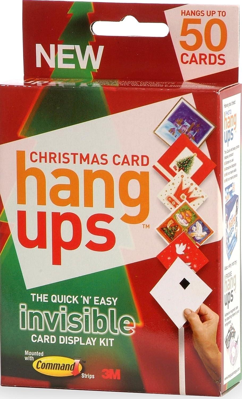 Christmas Card Hang Ups Adhesive Velcro Hanging Display Kit - Quick ...