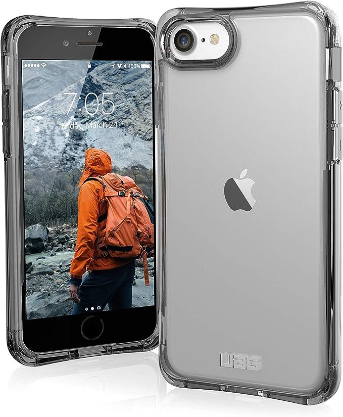 Urban Armor Gear Plyo Hülle Apple Iphone Se 2020 8 7 6s Schutzhülle Wireless Charging Kompatibles Cover Sturzfeste Handyhülle Ultra Slim Bumper Transparent Elektronik