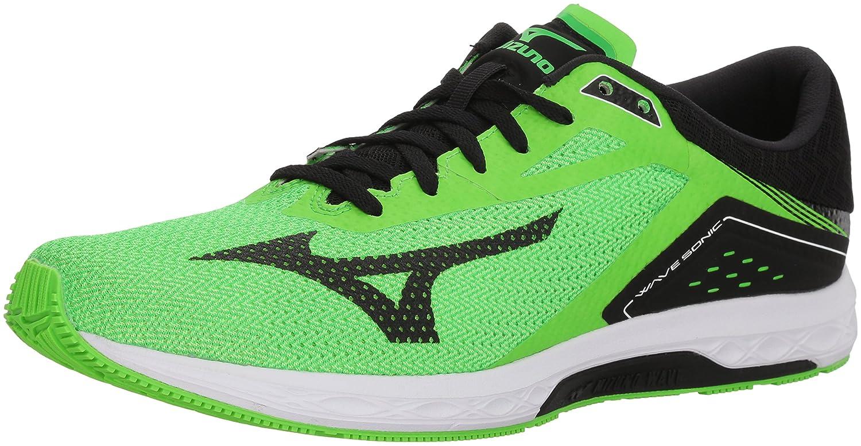 Mizuno メンズ Mizuno Men's Wave Sonic Running Shoes B072B8VYJD 8.5 D(M) US ネオングリーン/ブラック