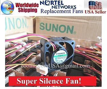1x Quiet Replacement Sunon Fan For Nortel 5520 48T PWR 12dBA Noise Best HomeNetworking Amazonca Electronics